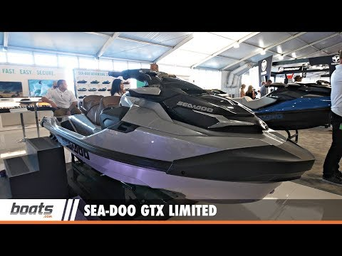 Sea Doo GTX Limited: First Look Video