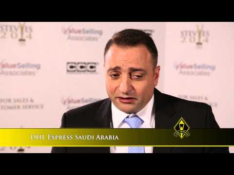 DHL Express Saudi Arabia wins at the 2014 Stevie Awards for Sales & Customer Service