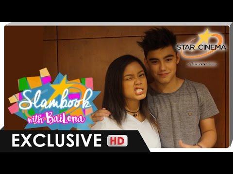 Bailey May and Ylona Garcia answer the Star Cinema Digital Slambook