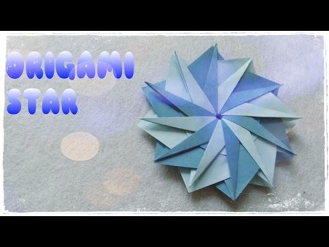 Origami Star Tutorial - Origami Easy