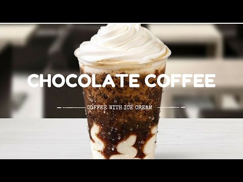 How To Make Chocolate Coffee with Ice Cream at Home | Perfect glass of Coffee | Passion World