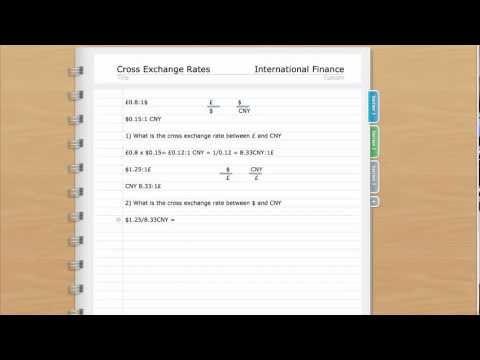 Cross Exchange Rates Simple Way