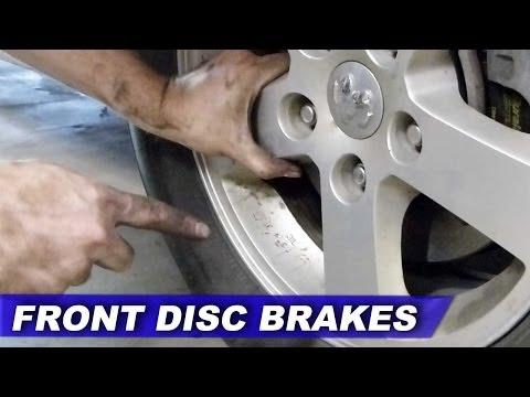 STEP BY STEP: Dodge Grand Caravan FRONT brake pads & rotors using basic tools (2007-2013)