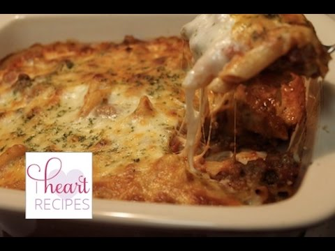 How to make Baked Ziti with Meat Sauce | I Heart Recipes