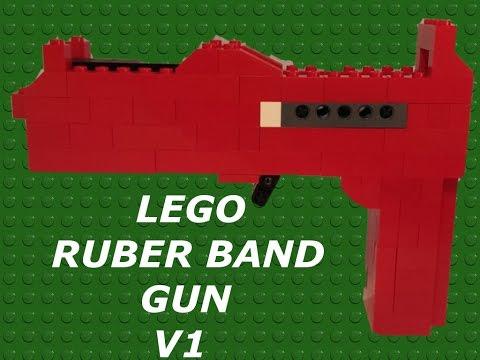 LEGO RUBBER BAND GUN