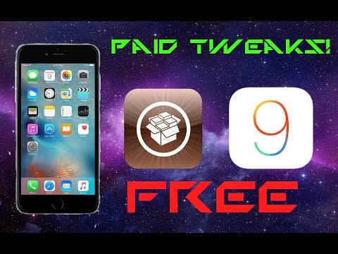 How to Get Paid Cydia Tweaks for Free on iOS 9!