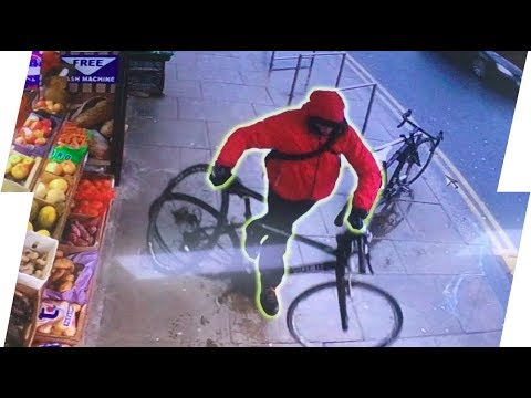 THIEF CAUGHT STEALING MY BIKE!!
