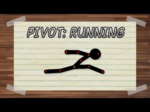 Stickman Animation: Running tutorial! (Pivot Animator)