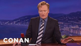 Conan Shares News Of The Death Of Robin Williams