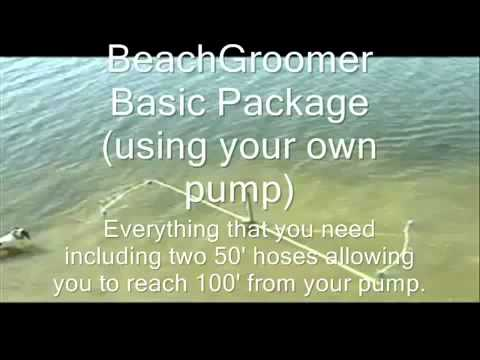 SWIMMING BEACH GROOMER muck and weed removal system