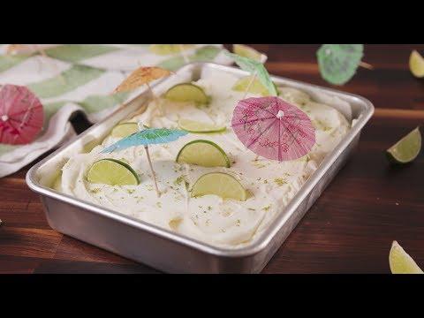 How to Make Margarita Poke Cake | Recipe | Delish