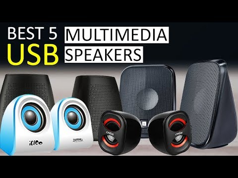Best 5 USB Multimedia Speakers For PC And Laptop
