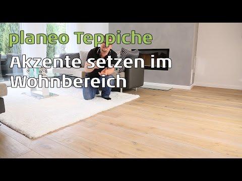 planeo Teppiche Akzente im Wohnbereich setzen