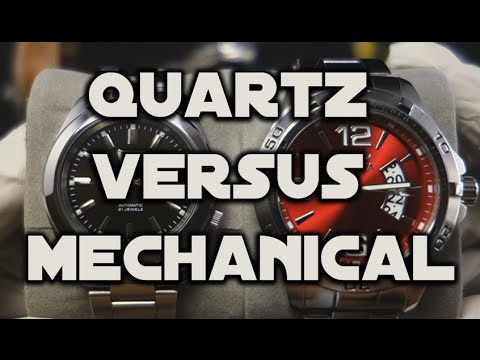The Differences between Quartz and Automatic (mechanical) Watches