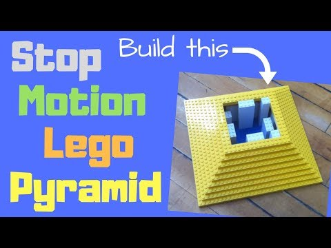 Stop Motion Lego Pyramid
