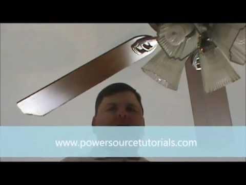 Take down ceiling fan
