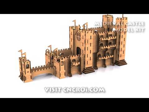 Custom Medieval Castle: Model Kit
