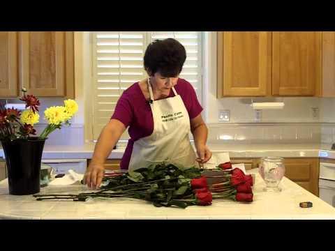 Cut-Flower Care for Fresh Roses
