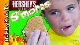 Download Hersheys S'MORES Kit Review with HobbyKidsTV Video