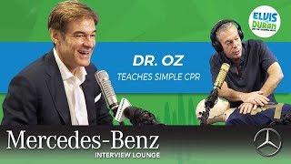 Dr. Oz Teaches Us Simple CPR | Elvis Duran Interview Highlight