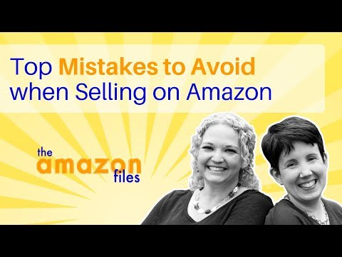 Top Mistakes to Avoid When Selling on Amazon