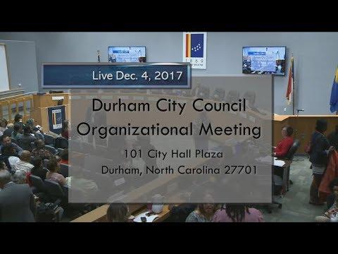 Durham City Council Dec 4, 2017