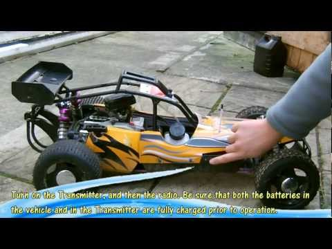 Starting your 1/5 2 Stroke Gas RC Car