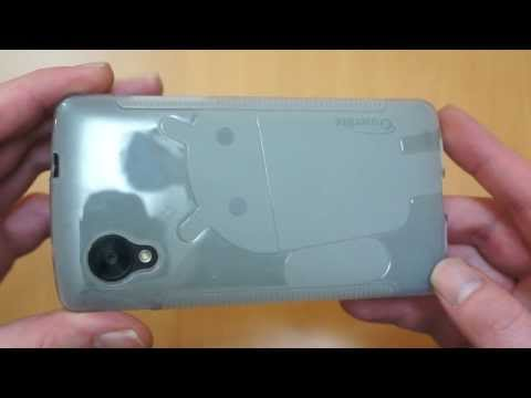 Cruzerlite LG Google Nexus 5 Case Review - Androidified A2 Clear