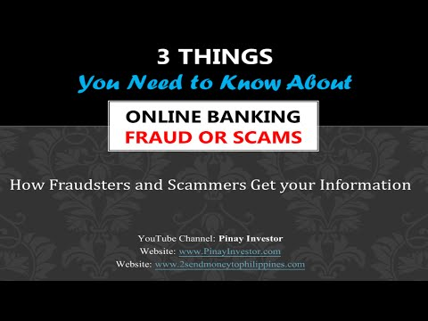 3 Things You Need to Know about Online Banking Fraud or Scams