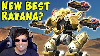 Is THIS the NEW BEST RAVANA? Overdrive Igniter Mk2 - War Robots Gameplay WR
