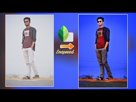 Snapseed Photo Editing Only Tricks | Best Color Effect _ Amazing Editing