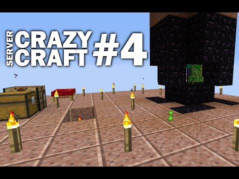 Minecraft PS4 - SPEED GRINDER - #4 CRAZY CRAFT - LET'S PLAY ( PS3 / XBOX )