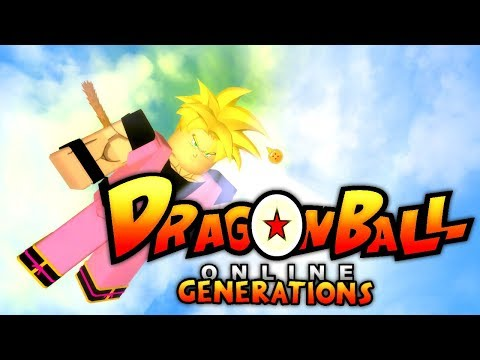 NEW DRAGON BALL Z GAME IN ROBLOX!! | Dragon Ball Online Generations!