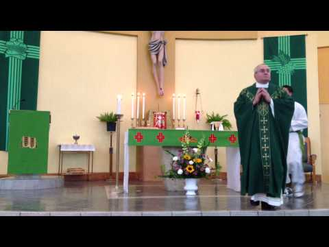 Spanish Mass at 7 PM on July 20, 2013 - Rev. Fr. Frank Cerio, Celebrant