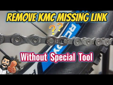 How to Remove KMC Missing Link - Without The Tool