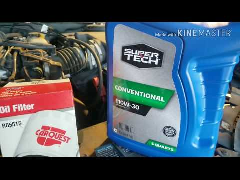 How to Change Motor Oil, Fast and Easy