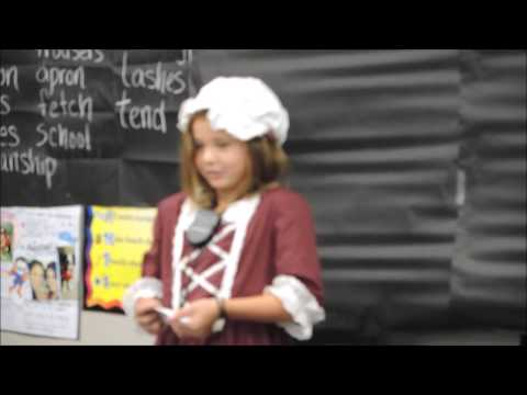 Georgia's 3rd Grade Betsy Ross Speech
