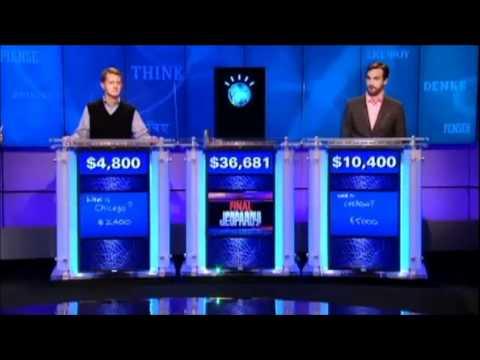 Jeopardy Watson's Final Jeopardy Answer Fail