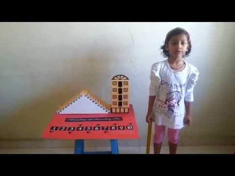 Maths project of Ascending and Descending Order