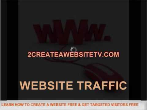 WEBSITE TRAFFIC statistics increase targeted rankings  REPORT 2CREATEAWEBSITETV.COM .wmv