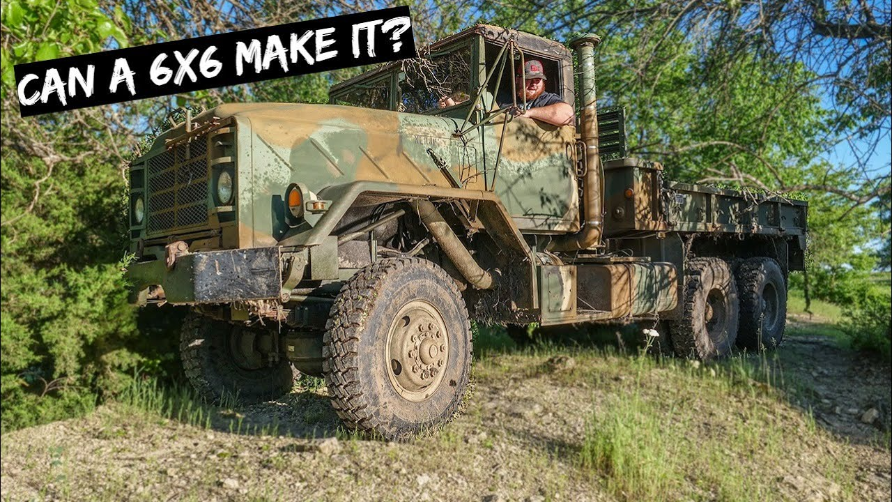 How Tough is our 6x6 Army Truck?