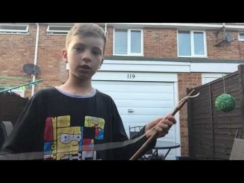 How to make a primative survival bamboo bow