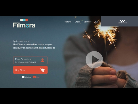 How To Get Wondershare Filmora 6.8 Full Version For Free 2017