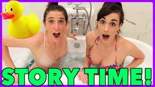 Bathtub Story Time!