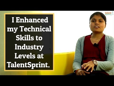 #MyStory - I Enhanced my Technical Skills to Industry Levels at TalentSprint.