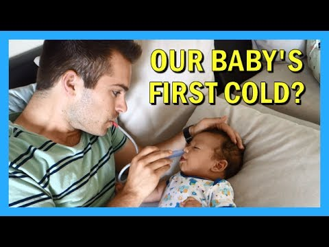 Our Baby's First Cold? | AprilJustinTV