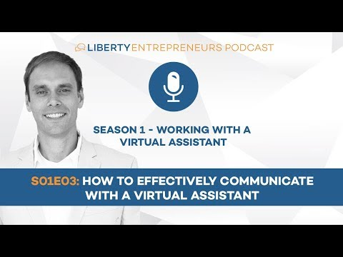 S01E03: Top 10 Ways to Effectively Communicate with your Virtual Assistant