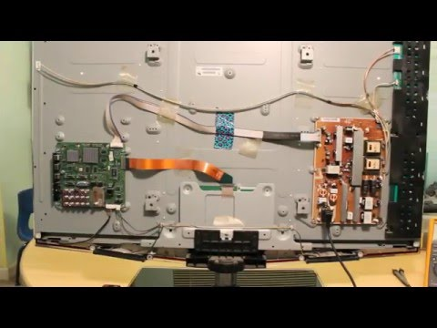 How To Repair Samsung LN46B650 LN46B640 LN46b550 LN52B630 LN52B650 LN52B750 NO PICTURE  NO BACKLIGHT