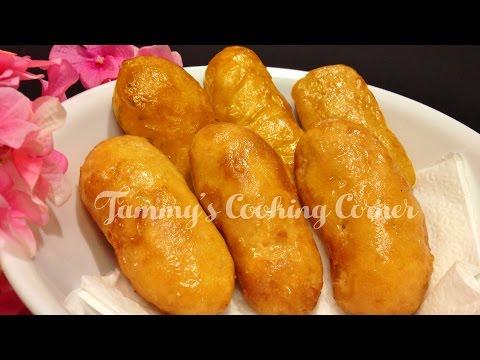 Chuoi Chien - Fried Banana Recipe - Bánh Chuối Chiên