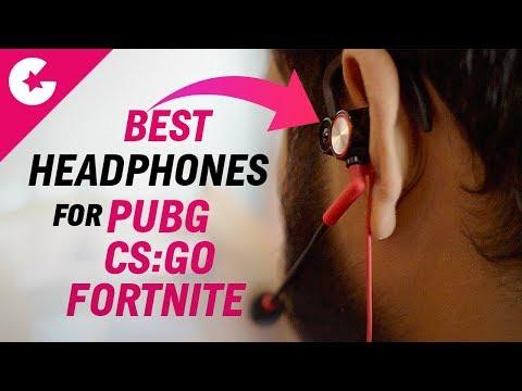 Best In-Ear Gaming Headphones For PUBG/Fortnite/CS:GO